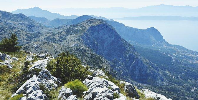 Croatia, Mountains, South Croatia, Sea, Landscape