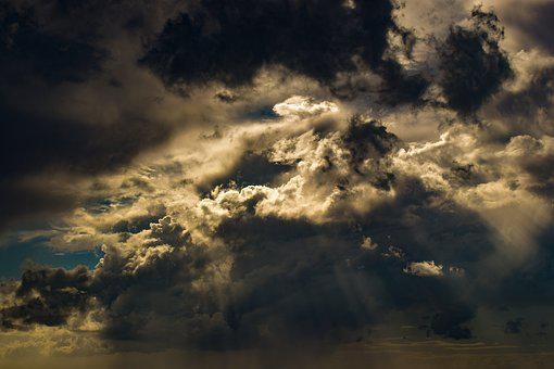 Clouds, Sky, Storm, Stormy Weather, Autumn Mood
