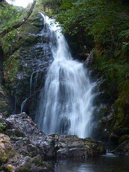 Cataract, Waterfall, Water Xorroxin, Baztan, Navarre