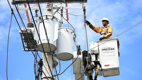 Electrician, Electricity, Work, Repair, Tools, Helmet