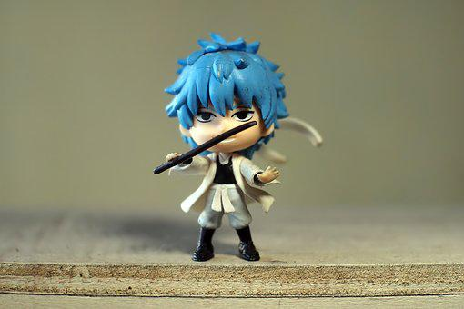 Young, Male, Man, Toy, Figurine, Small, Cute, Japanese