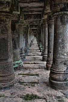 Ancient, Angkor, Angkor Wat, Ankor, Antique, Arch