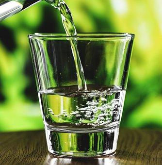 Aqua, Beverage, Bubbles, Clear, Close Up, Cold Drink