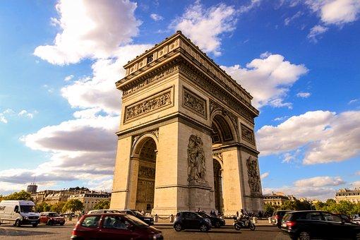 Arc, Triumph, Paris, History, Monument, Tourism, Travel
