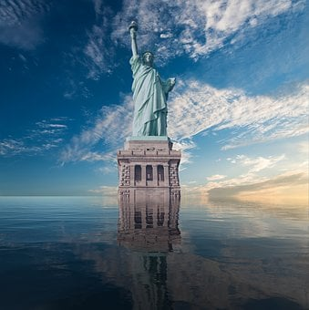 Statue Of Liberty, America, Monument, Architecture
