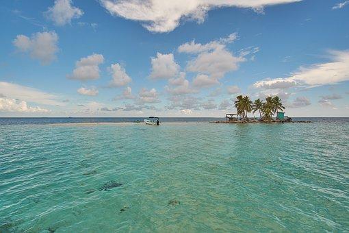 Silk Caye, Island, Caye, Sandbar, Belize