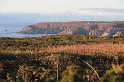Pointe Du Van, Sea, Cape, Bank, Brittany