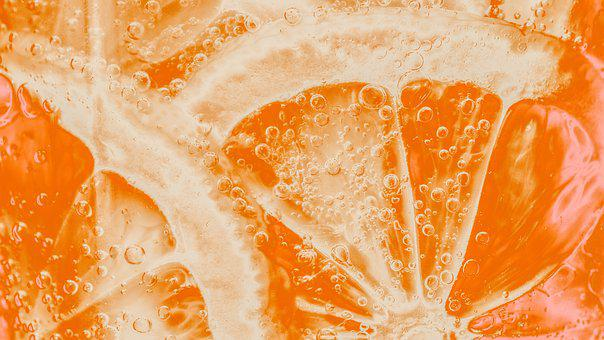 Background, Bright, Carbohydrated, Circle, Citrus