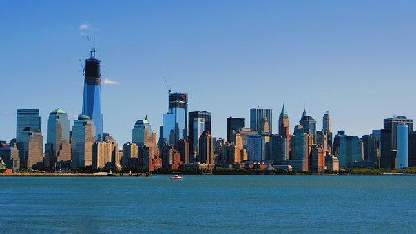New, York, City, Architecture, Manhattan, Skyline