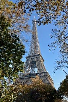 Eiffel Tower, Paris Eiffel Tower, City, France, Travel