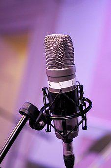 Mic, Podcast, Microphone, Broadcasting, Communication