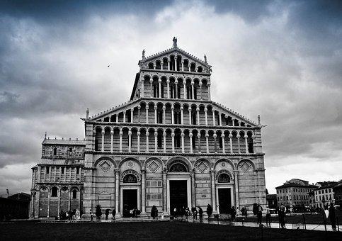 Italy, Convent, Pisa, Monastery, Church, Past, Abbey