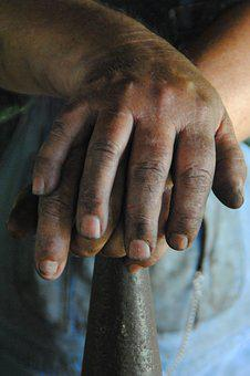 Hands, Work, Ironwork, Job, Craftsman