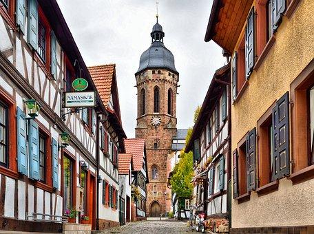Kandel's Old Town, Fachwerkhäuser, Architecture