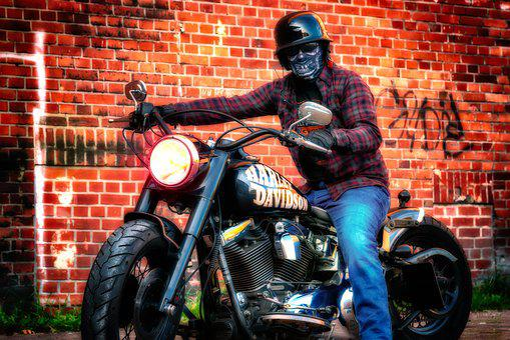 Motorcycle, Harley Davidson, Biker, Machine, Classic