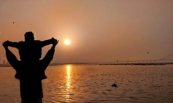 Nature, Sky, Beautiful, Beauty, Mumbai, Horizon