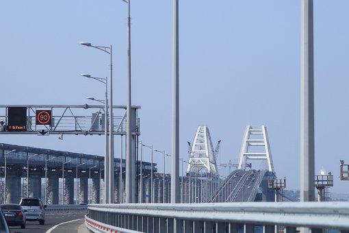 Road, Fencing, Indices, Insignia, Bridge, Crimean