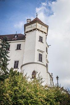 Konopiště, Castle, Monument, History, Architecture