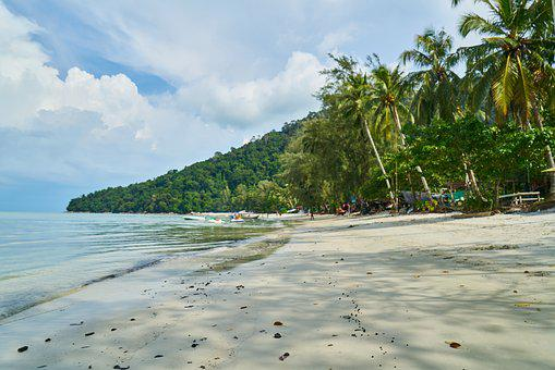 Beach, Tropical, Marine, Nature, Landscape, Sky