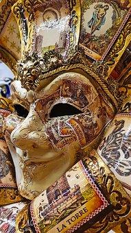 Mask, Carnival, Venice, Venetian Mask, Masquerade