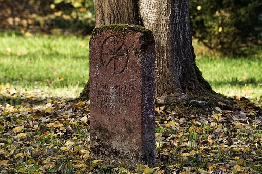 Grave, Sculpture, Stone, Tombstone, Death, Mourning