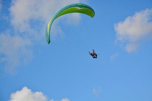 Paragliding, Paraglider, Adventure, Sport