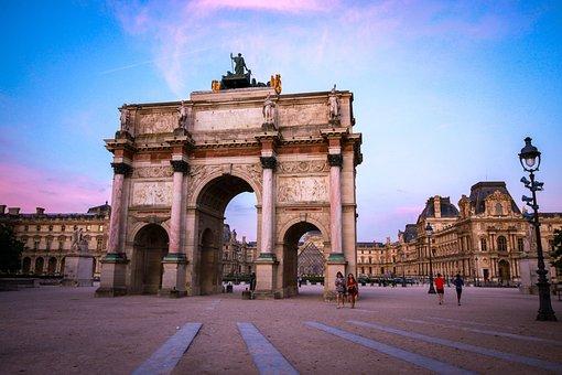 Louvre, Triumph, Architecture, Paris, Tourism, Travel