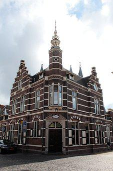 Naarden, Fortress, Post Office, Old, Architecture