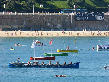 Regatta, Euskadi, Rowers, Rowing, Traineras, Shell