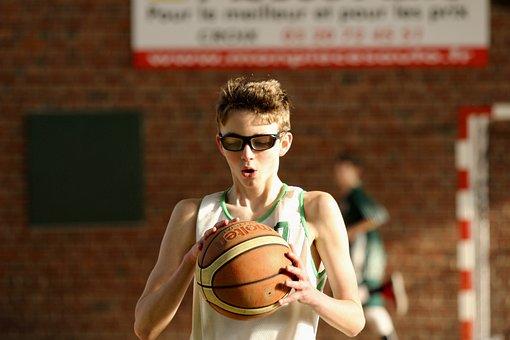 Basketball, Concentration, Shoot, Tournament