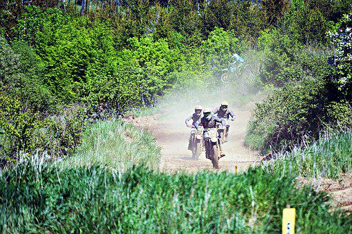Motorcycle, Competition, Sport, Speed, Motocross