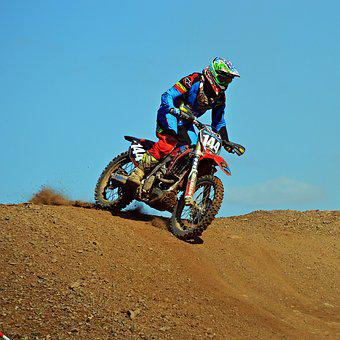Sport, Motocross, Motorcycle, Driver, Speed, Race