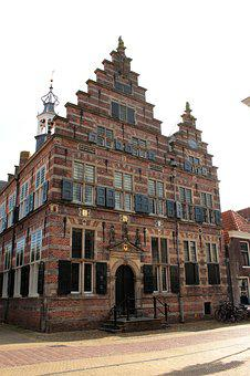 Naarden, Town Hall, Architecture, Old, Medieval