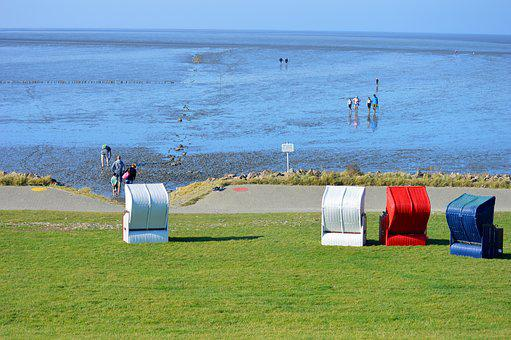 Friedrichskoog Tip, Clubs, North Sea, Wadden Sea