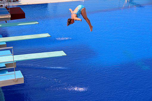 Sport, Jumping Into Water, Water