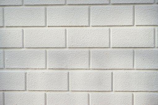 Brick, Wall, White, Texture, Pattern, Stone