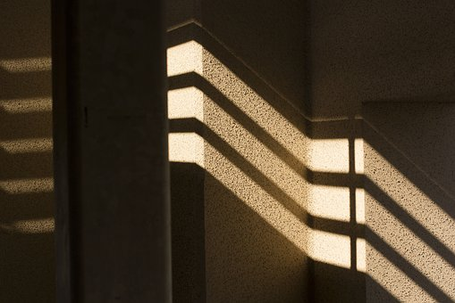 Shadows, Wall, Sun, Architecture, Texture, Light, Walls