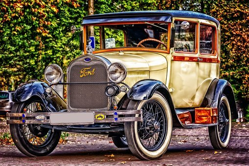 Ford, Oldtimer, Automotive, Classic, Old, Auto
