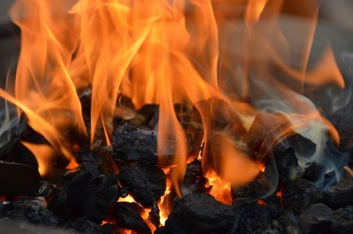 Ember, Fire, Smoke, Fireplace, Incandescent, Carbon