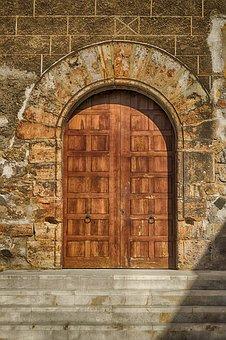 Door, Old Door, Portal, Historical, Closed