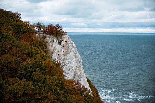Königsstuh, White Cliffs, Baltic Sea, Sea, Coast, Water