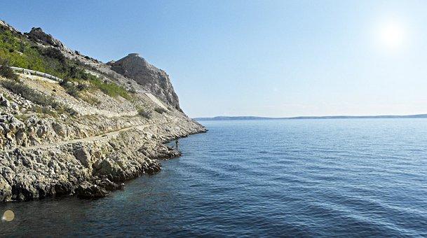 Sea, An Island, Croatia, Holiday, Summer, Water, Coast