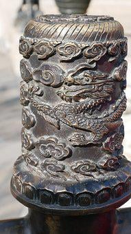 Beijing, Summer Palace, China, Dragon, Garden