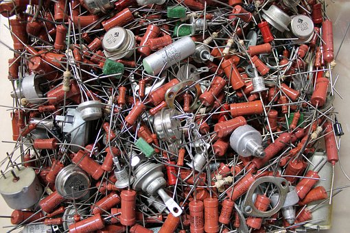 Electronics, Resistor, Vintage, Electronic, Radio