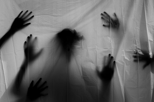 Hands, Scary, Silhouette, Horror, Halloween, Fear, Dark