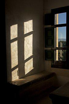 Window, Sky, Field, Architecture, Shadows, Light
