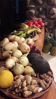 Vegetables, Potato, Tomato, Food, Groceries