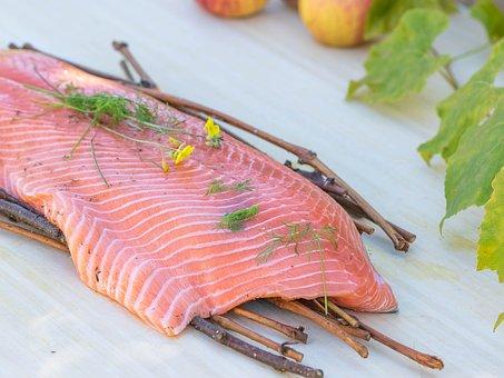 Salmon, Kitchen, Food, Foodie, Delicious, Scene