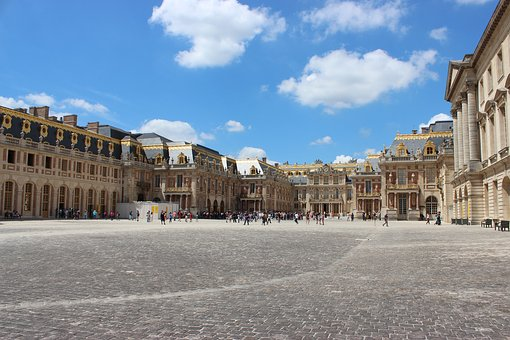 Versailles, France, Castle, Architecture, Palace