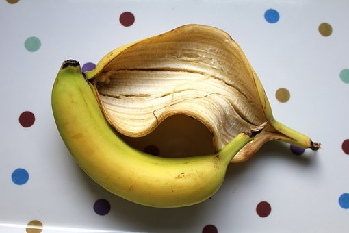 Banana, Skin, Peel, Fruit, Food, Healthy, Ripe, Fresh